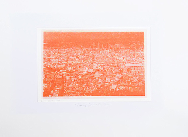Looking For Fari House screenprint