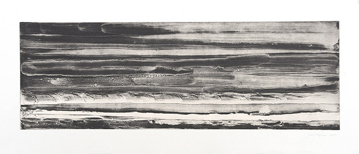 From Shore to Sea etching
